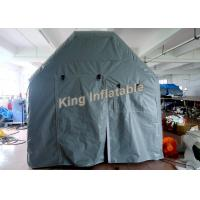 Wholesale Grey Waterproof Inflatable Event Tent / Inflatable Single Tent For Army Medical Or Camping from china suppliers