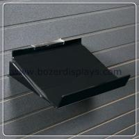Buy cheap Black 1''8 thick Acrylic Shelf with Side Supports from wholesalers