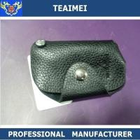 Wholesale Fashionable Leather Key Pouch Intelligent Key Chain Holder For Mistubishi from china suppliers