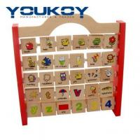 Wholesale ABC Educational Abacus Chidren Wooden Toy (YK1055) from china suppliers