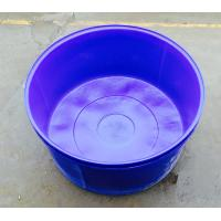 Quality 3500 liter  No Collapsible aquaculture Circle indoor commercial PE raised plastic fish ponds for sale