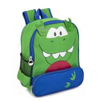 Wholesale OEM Green Boys School Backpacks Kids Cute Backpacks For School Polyester from china suppliers