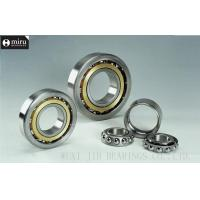 Quality Open Type Single Row Angular Contact Ball Bearing , Machine Tool Bearing for sale
