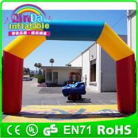 Wholesale Guangzhou Qinda hot selling Inflatable Arch (promotion,racing,finish line,event) inflatabl from china suppliers