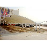 Wholesale Fabric Membrane Vehicle Parking Sheds Outside Shade Structures Wind Resistance from china suppliers