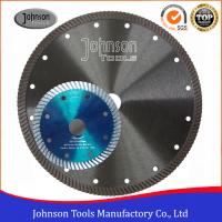 Wholesale Smooth Diamond Stone Cutting Blades Cold Press Turbo Sintered Granite Cutting Blade from china suppliers