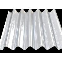 0.2mm Thickness Corrugated Aluminum Roofing Panels , Aluminium Sandwich Panel For Wall Cladding
