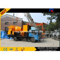 Wholesale Truck Mounted Concrete Mixer Pump Truck Max Pumping Output 40m3/h from china suppliers