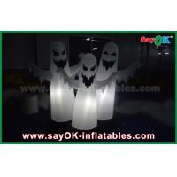 Wholesale 1.5m OXford Cloth Halloween 3 Ghost Inflatable Lighting Decoration Waterproof from china suppliers