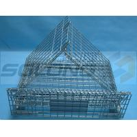 Wholesale Warehouse Industrial Metal Box Pallet Storage Wire Steel Stackable Cages from china suppliers