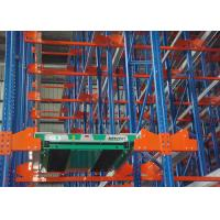 Wholesale Bolted Warehouse Radio Shuttle Racking System , Pallet Shuttle System For Logistics from china suppliers