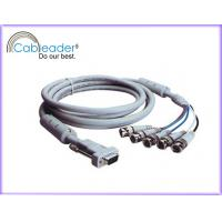 Wholesale High Speed VGA to TV Cable HD15M - 5XBNC male cable with Ferrite cores from china suppliers