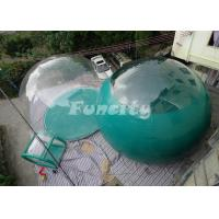 Wholesale EN15649 Certificated 4M Inflatable Bubble Tent With 0ne / Two Rooms from china suppliers