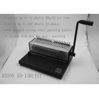 Wholesale Electronic Office Binding Machines , A4 File Small Binding Machine from china suppliers