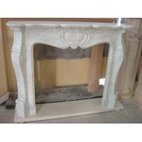 Wholesale Craft Stove Fireplace, White Marble Fireplace for Decoration from china suppliers