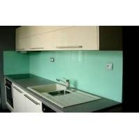 Buy cheap 3mm To 8mm Heat Resistant Kitchen Glass , white back painted glass from wholesalers