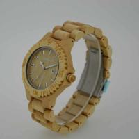 Wholesale Fashion Custom Quartz Wood Watch / Mens Handcrafted Wood Watches , OEM ODM Service from china suppliers