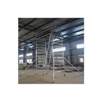 Wholesale Professional Custom Mobile Tower Scaffold / Scaffolding Mobile Tower For Inspecting Roof from china suppliers