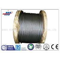 Wholesale High Tensile Flexible Galvanized Steel Wire Rope With 6-48mm Wire Gauge from china suppliers