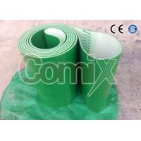 Quality Green Smooth Softer PVC Industrial Conveyor Belts With Various Patterns for sale