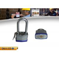 Wholesale Long shackle Safety Lockout Padlocks High Strength Steel Laminated from china suppliers