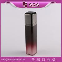 Wholesale SRS 15ml 30ml 50ml luxury acrylic airless cosmetic square packaging for skincare products from china suppliers