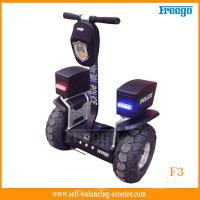 Wholesale Standing 48cm Vacuum Tire Off Road Electric Scooter Two-Wheel For Policeman from china suppliers