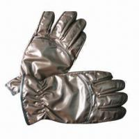 Wholesale Down gloves, made of polyester from china suppliers