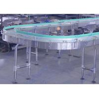 Wholesale Motor Drived Bottle Conveyor System For Beverage Filling Line , Engineering Plastic Belt from china suppliers