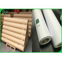 China Customized Length 3 Core Format Plotter Paper Roll With Strong Stiffness on sale