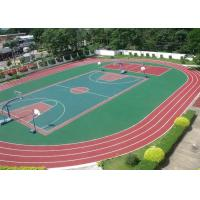 Wholesale 13mm Thick Layer Pure EPDM Rubber Granules , Colored Plastic sports running track from china suppliers