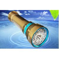 Wholesale Scuba Diving Flashlight Scuba Diving Torch 8000Lm Aluminum Alloy Material from china suppliers