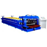 Wholesale Roofing Step Glazed Tile Roll Forming Machine from china suppliers