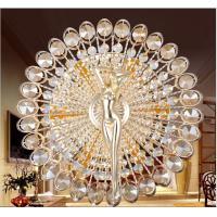 Wholesale Creative Sun Goddess Style Round Crystal Wall Lamp Lights With E14 LED Bulb For Gangway Passageway Corridor from china suppliers