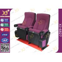 Wholesale OEM Folded 3d 4d 5d Movie Theater Chairs Red Color Movie Theatre Furniture from china suppliers