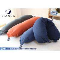 Wholesale Soft Plush Microbeads Memory Foam Pillows With 100% Polyester Fleece Material , CE SGS from china suppliers