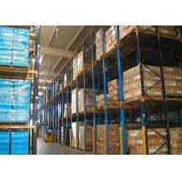 Wholesale 5000mm High Volume Drive In Pallet Racking Cold Rolled Assemble Structure from china suppliers