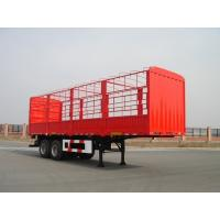 Wholesale 13m-2 Axles-30T-Rail Side Flat Bed container semi trailer from china suppliers