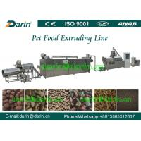 Wholesale Mult - function Snacks Pet Food Extruder Machine 120 - 150kg/hr 150 - 300kg/hr from china suppliers
