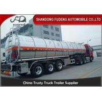 Wholesale Stainless Steel Tanker Trailers With A Capacity Of 45000 Liters For Transport Of Palm Oil from china suppliers