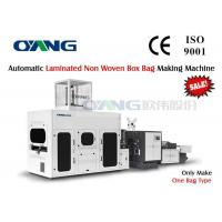 Wholesale Laminated Non Woven Box Bag Making Machine With 37-52cm Loop Handle from china suppliers