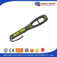 Wholesale Anti Fall Hand Held Metal Detector For Airport Security Check , 7V-9V Operate Voltage from china suppliers