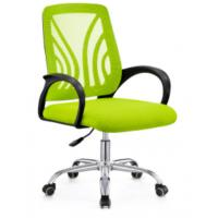 Quality Mid-back ergonomic computer desk office chair with padded seat for sale