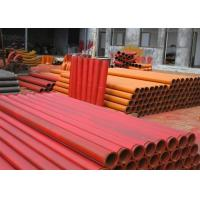 Wholesale Putzmeister DN125 Concrete Pump Straight Pipe ST52 Material , 4.5mm Thickness from china suppliers
