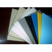 Wholesale Smooth Or Sand Surface Blue Colored Plastic Sheet For Chemical Industry Light Density from china suppliers