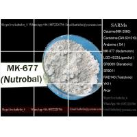 Quality Oral Grow Hormone SARMs MK-677 / Ibutamoren / Nutrobal Promotes Lean Muscle Mass 159752-10-0 for sale