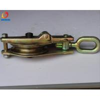 Wholesale Hoisting block  Cable Pulling Pulley 3T 30KN / Single Wheel Wire Rope Pulley from china suppliers