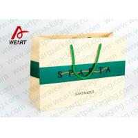 Wholesale Modern Monogrammed Gift Bags Paper Material , Colored Printed Retail Bags from china suppliers