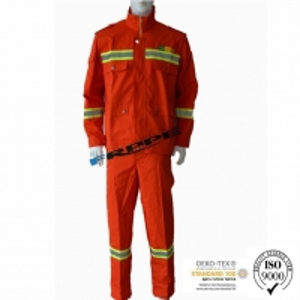 China Men Women Frc Orange Arc Proof Fr Coveralls EN1149 on sale
