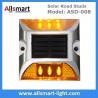 Buy cheap 6 LED Solar Road Studs Solar Driveway Lights Aluminum Solar Highway Marker Lights Pedestrian Crossings Warning Lights from wholesalers